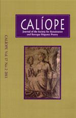Caliope Vol 17 No 2 cover
